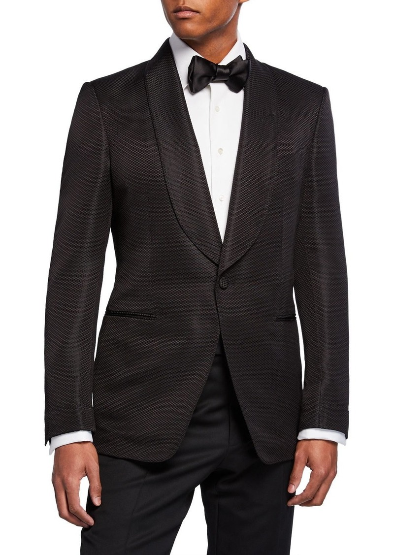 TOM FORD Men's Shelton Shawl-Collar Jacket