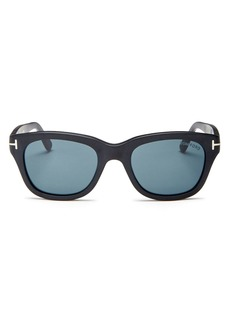 Tom Ford Men's Snowdon Square Sunglasses, 52mm