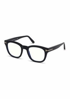TOM FORD Men's Square Acetate Optical Glasses