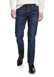TOM FORD Men's Straight-Fit Dark-Wash Jeans