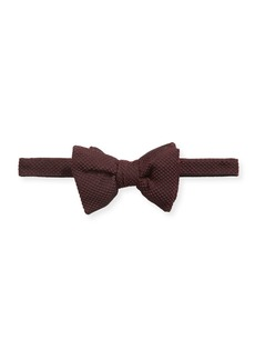 TOM FORD Men's Textured Silk-Blend Bow Tie