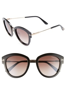 Tom Ford Mia 55mm Cat Eye Sunglasses