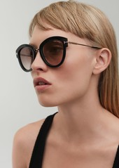 3c1b31c7594 Tom Ford Tom Ford Mia 55mm Cat Eye Sunglasses