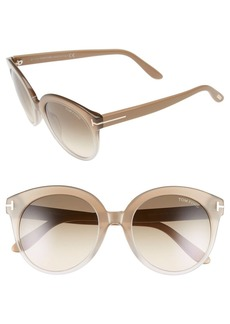 Tom Ford 'Monica' 54mm Retro Sunglasses