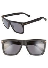 Tom Ford Morgan 57mm Polarized Sunglasses