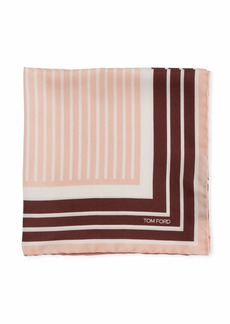 TOM FORD Multicolor Silk Pocket Square