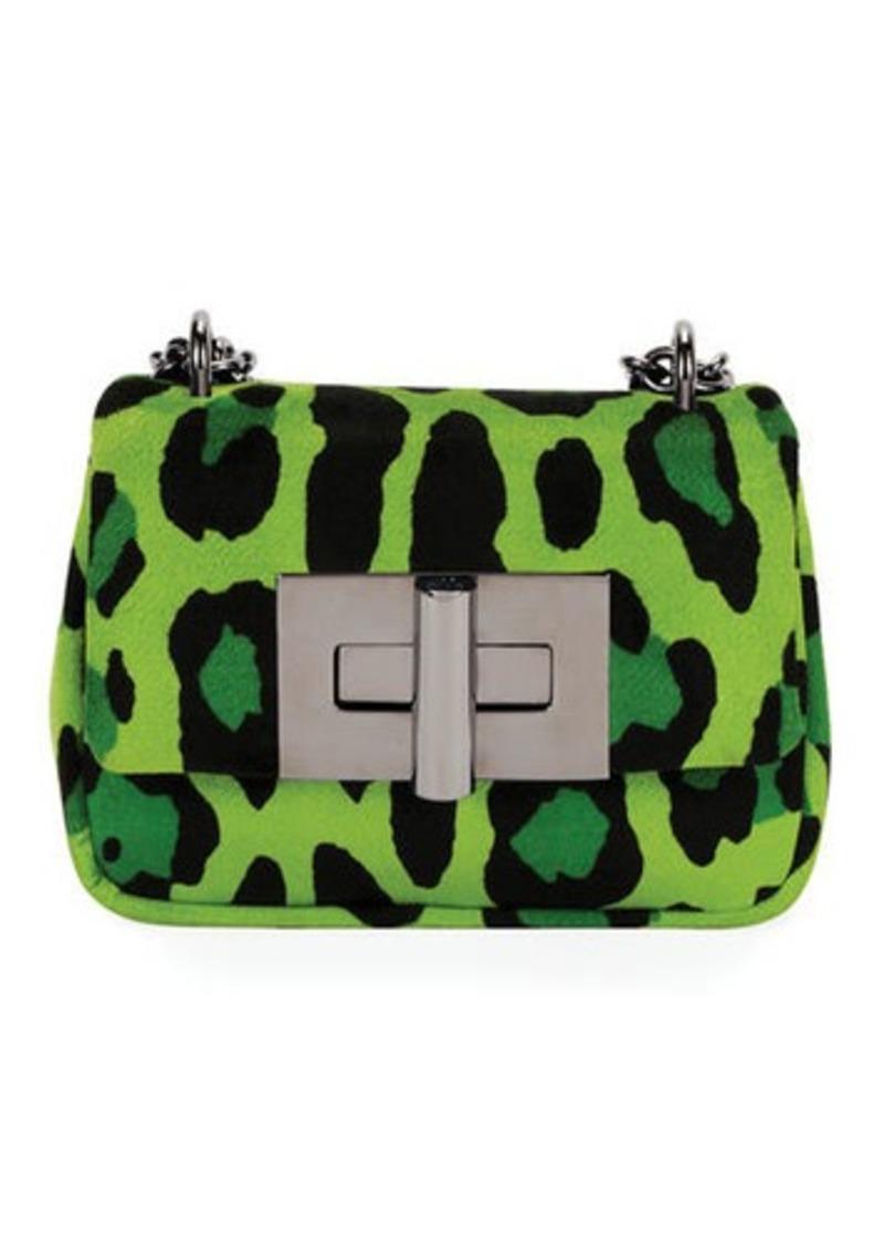 8bcff610613b Tom Ford TOM FORD Natalia Small Leopard-Print Soft Velvet Shoulder ...
