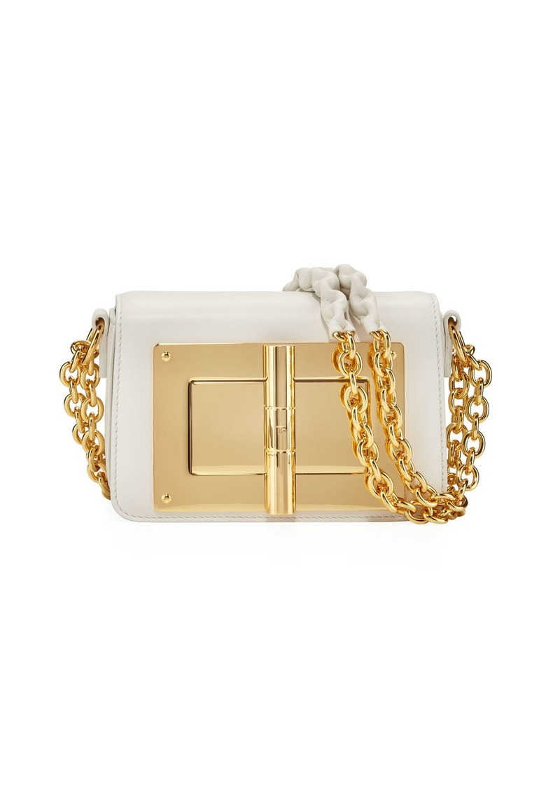 TOM FORD Natalia Smooth Shoulder Bag