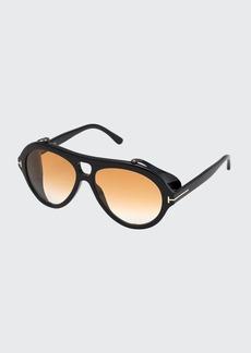 TOM FORD Neughman Aviator Sunglasses