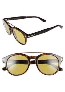 Tom Ford Newman 53mm Sunglasses
