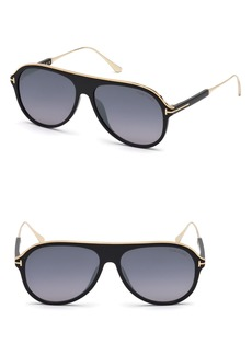 Tom Ford Nicholai-02 57mm Sunglasses