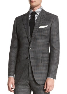 TOM FORD O'Connor Base Bicolor Gingham Two-Piece Suit