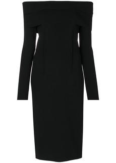 Tom Ford off shoulder evening dress - Black