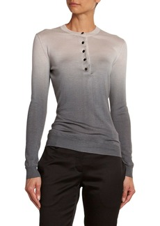 TOM FORD Ombre Cashmere-Silk Top
