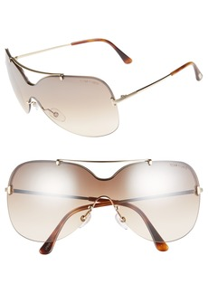 Tom Ford Ondria Gradient Lens Shield Sunglasses