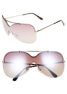 Tom Ford Ondria Gradient Lens Shield Sunglasses