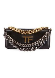 TOM FORD Palmellato TF Leather Shoulder Bag