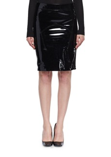 TOM FORD Patent Leather Pencil Skirt