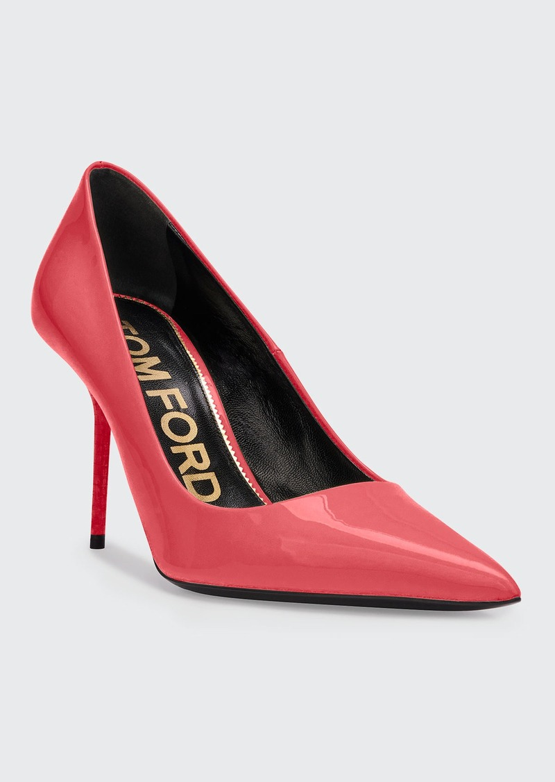 TOM FORD Patent Leather Pointed Pumps