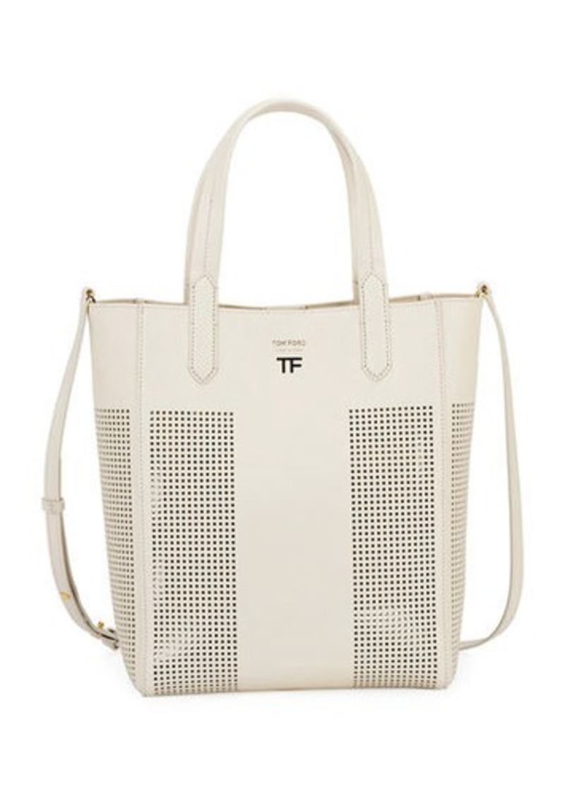 TOM FORD Perforated Small Tote Bag