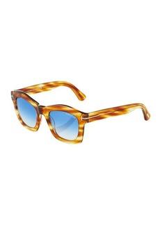 TOM FORD Plastic Square Sunglasses