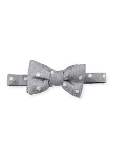 TOM FORD Polka Dot Silk Bow Tie