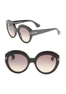 Rachel 54MM Round Sunglasses