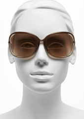 3650ca66c1 Tom Ford Tom Ford  Raquel  63mm Oversized Open Side Sunglasses ...