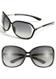 Tom Ford 'Raquel' 63mm Oversized Open Side Sunglasses