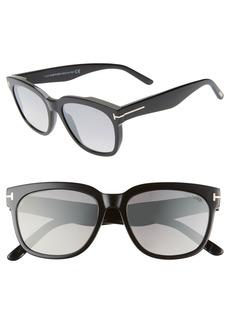 Tom Ford Rhett 55mm Sunglasses