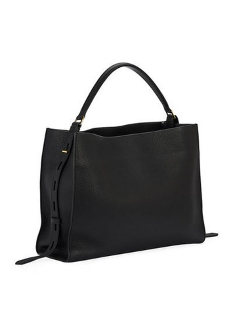 TOM FORD Rialto Grain Medium Top Handle Bag