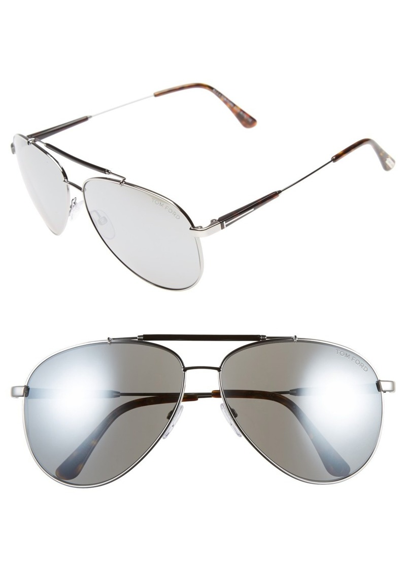 Tom Ford Rick 62mm Aviator Sunglasses (Regular Retail Price: $395.00)