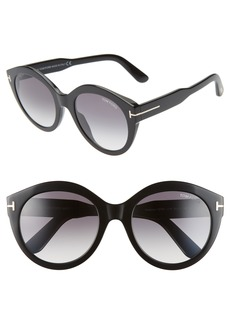 2811ec7715 Tom Ford Tom Ford Presley 61mm Butterfly Sunglasses