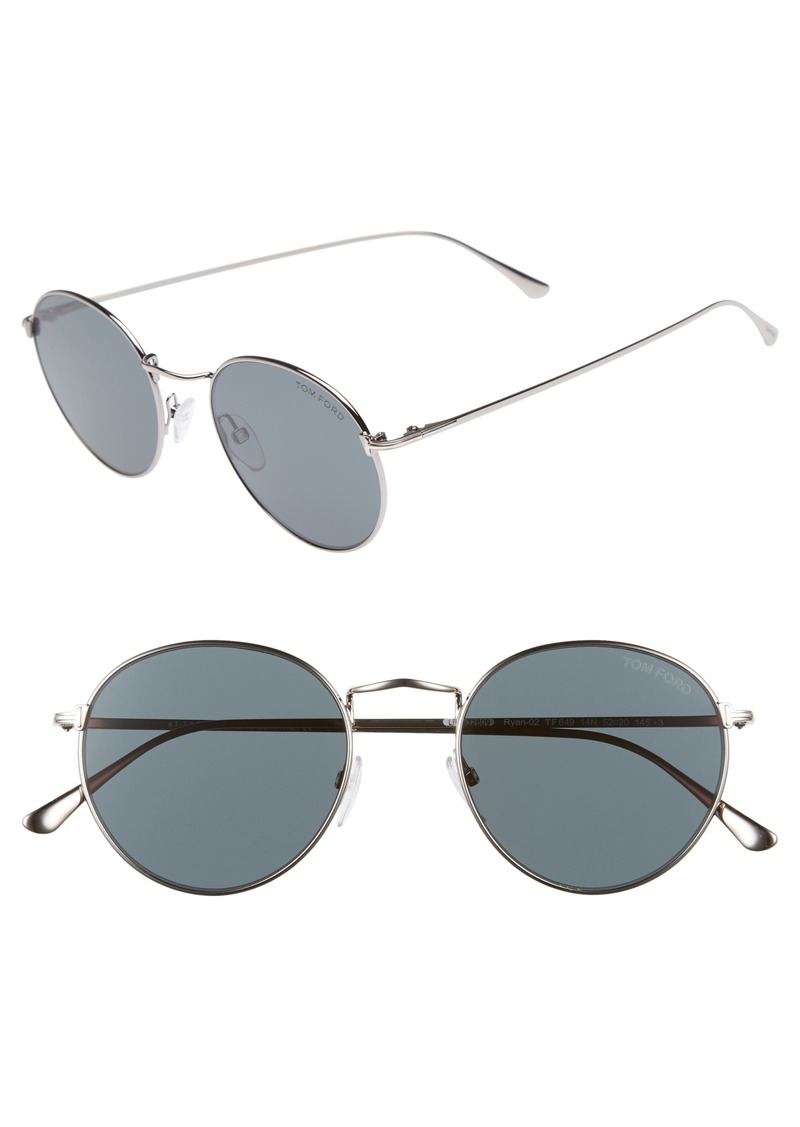 cf4f3ff1bce Tom Ford Tom Ford Ryan 52mm Round Sunglasses