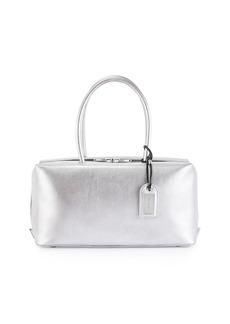 TOM FORD Samantha Medium Metallic Leather Tote Bag
