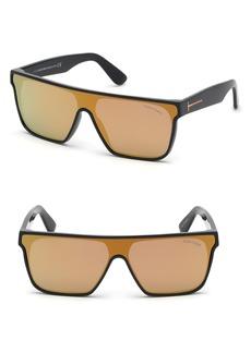 Tom Ford 140mm Shield Sunglasses