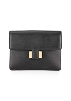 TOM FORD Sienna Large Leather Pouch Clutch Bag