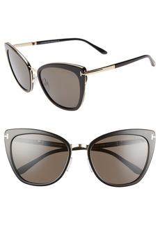 Tom Ford Simona 56mm Sunglasses