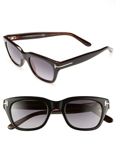 Tom Ford 'Snowdon' 50mm Sunglasses