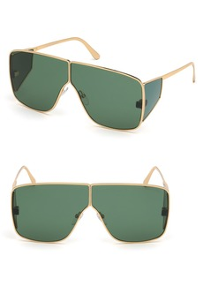 Tom Ford Spector 72mm Geometric Sunglasses