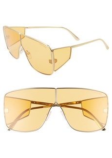 Tom Ford Spector 72mm Shield Sunglasses
