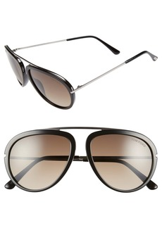 Tom Ford 'Stacy' 57mm Sunglasses