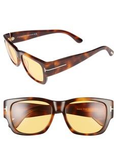 Tom Ford 'Stephen' 54mm Retro Sunglasses
