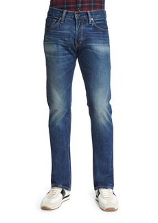 TOM FORD Straight-Fit Vintage-Wash Selvedge Denim Jeans