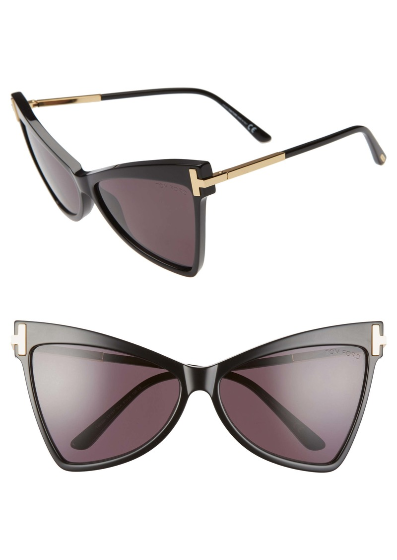 Tom Ford Tallulah 61mm Cat Eye Sunglasses