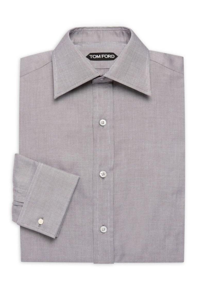 Tom Ford Textured Cotton Dress Shirt