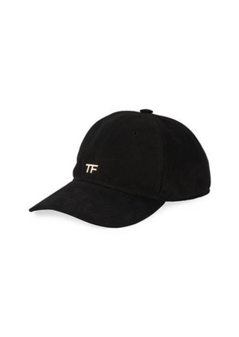 TOM FORD TF Canvas Logo Baseball Cap