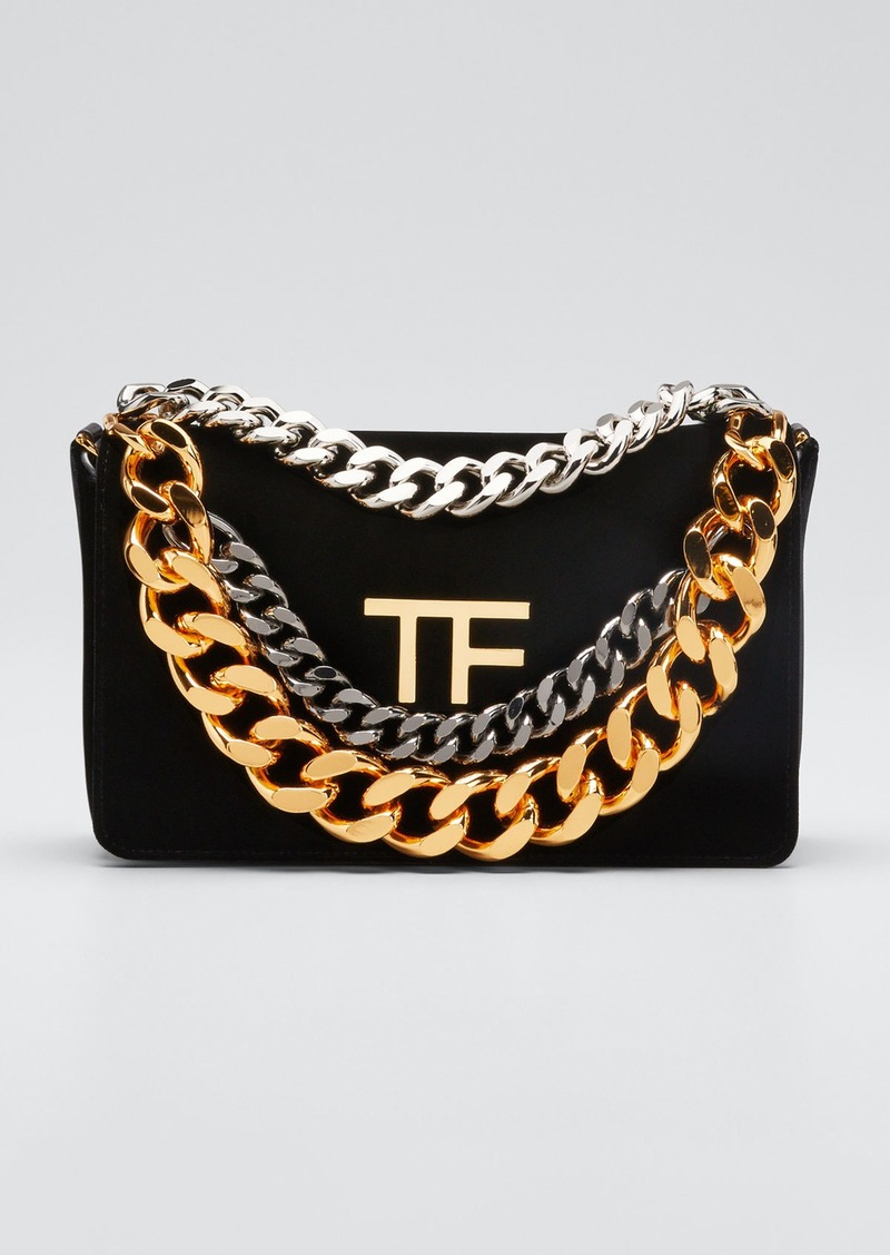 TOM FORD TF Velvet Chain Bag