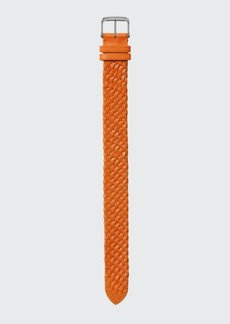 TOM FORD TIMEPIECES Large Handmade Braided Calf Leather Strap