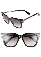 Tom Ford 'Tracy' 53mm Retro Sunglasses